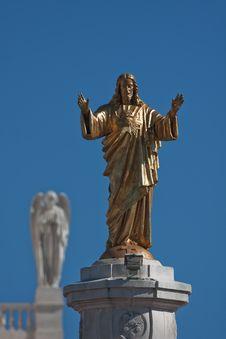 Free Jesus Statue Royalty Free Stock Photo - 24234535