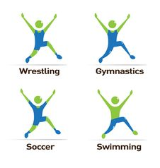 Free Olympics Athletes Royalty Free Stock Image - 24235176