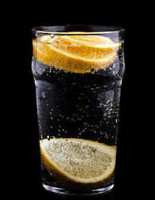 Free Lemon And Water Stock Photography - 24238982