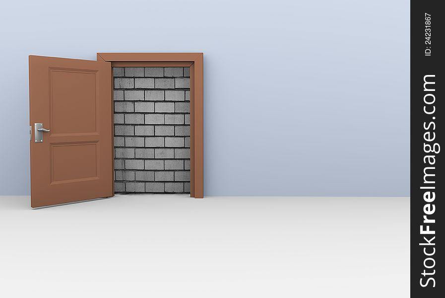 3d door to no way