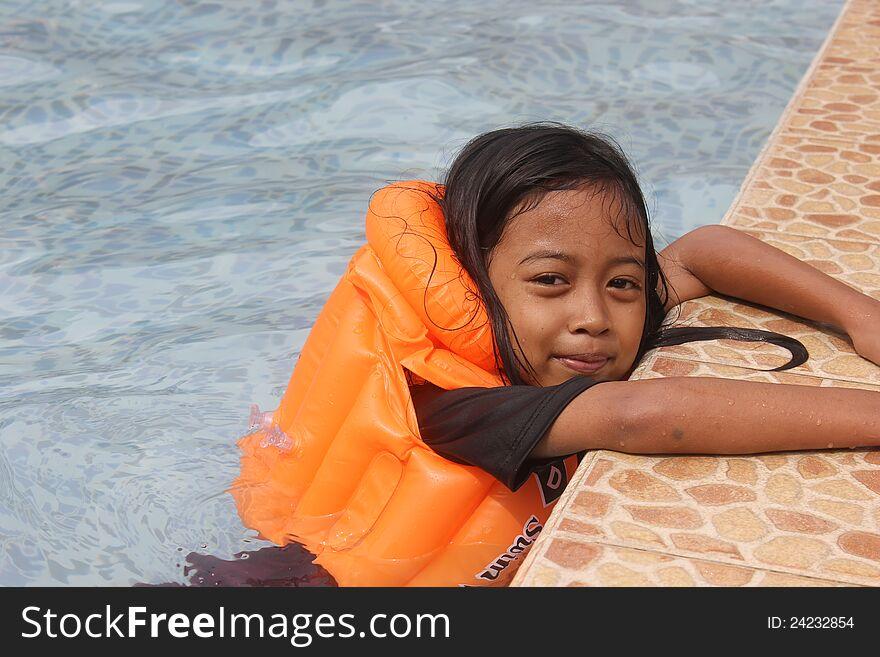 Children Swiming