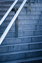 Free Stairs With Handrail Royalty Free Stock Image - 24247006
