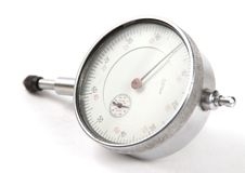 Curvimeter Close-up Stock Images