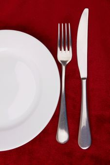 Free Fork And Knife Stock Photography - 24243332