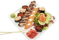 Free Sushi Royalty Free Stock Photos - 24244028
