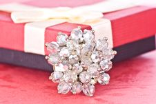 Jewelry And Box Royalty Free Stock Image