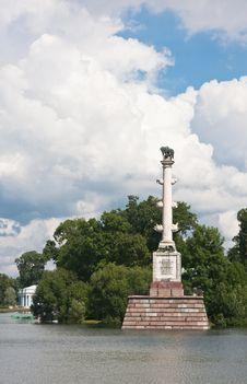 Free Chesme Column In Tsarskoye Selo.  Russia Royalty Free Stock Photos - 24245808