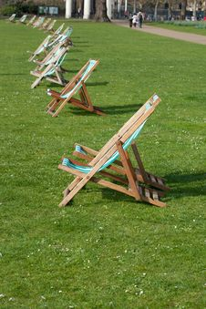 Free Lawn Chairs Royalty Free Stock Photography - 24247087