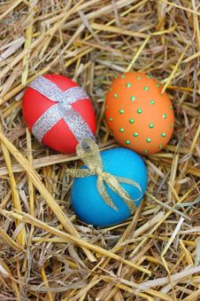 Free Easter Eggs Stock Photos - 24249223