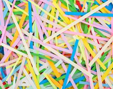 Background From The Coloured Thread-papers Stock Images