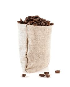 Free Grains Of Coffee In A Sack From Sacking Royalty Free Stock Photo - 24249985