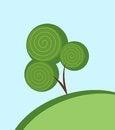 Free Abstract Tree Royalty Free Stock Photos - 24251408