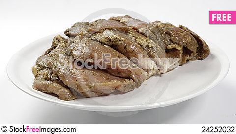 Free Raw Meat Stock Photography - 24252032