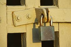 Rusty Padlock Royalty Free Stock Photos