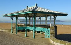 Free Seaside Ornate Shelter Royalty Free Stock Photography - 24251087