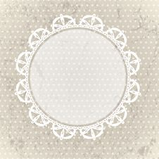 Free Lace Background Stock Photography - 24252012