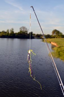 Free Fishing Lure Royalty Free Stock Images - 24252619