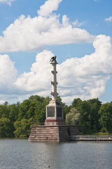 Free Chesme Column In Tsarskoye Selo.Russia Royalty Free Stock Photo - 24253785