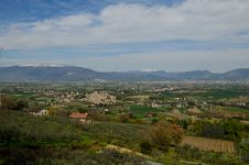Free Umbria Valley Royalty Free Stock Photos - 24255118