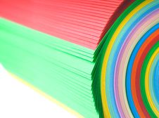 Free Colorful Paper Royalty Free Stock Photos - 24255848