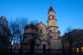 Free Church In Vilnius Night Royalty Free Stock Photos - 24268888