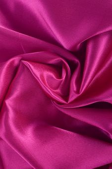 Free Smooth Elegant Red Silk Royalty Free Stock Images - 24262149