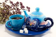 Free Tea Time Royalty Free Stock Photos - 24265588