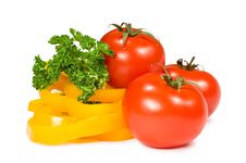 Free Tomatoes, Peppers And Parsley Stock Images - 24268904