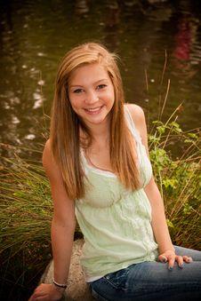 Free Teen Girl Royalty Free Stock Photos - 24269028