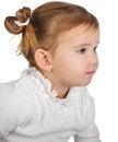 Free Portrait Of Cute Little Girl Stock Photo - 24276870