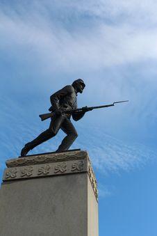 Gettysburg Battlefield Stock Photo