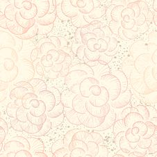 Free Abstract Seamless Flower Texture Stock Photography - 24274182