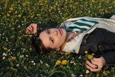 Free Girl In Park Stock Photos - 24279373