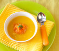 Free Pumpkin Soup Stock Photography - 24289132