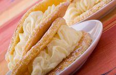 Free Cream Cakes Stock Photography - 24283422