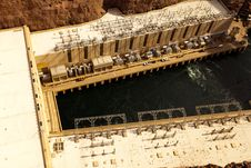 Free Hoover Dam Royalty Free Stock Photo - 24285585