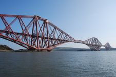 Free Forth Rail Bridge Royalty Free Stock Image - 24288446