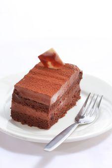 Free Chocolate Cake Stock Photo - 24288950