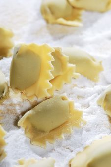 Free Pasta Ravioli Royalty Free Stock Photos - 24289138