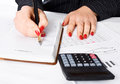 Free Business Woman Writing Stock Photos - 24293293