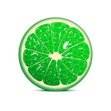 Free Lime Vector Illustration Stock Image - 24292151