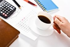 Free Coffee Time Royalty Free Stock Images - 24293869