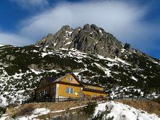Free Mountain Cottage Royalty Free Stock Photos - 24294028