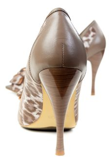 Free A Pair Of Female Leopard Shoes Stock Photo - 24298150