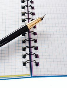 Free Open Notebook Stock Image - 24298791