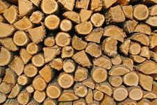 Free Wood Logs Pattern Royalty Free Stock Photos - 24299708