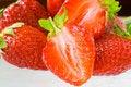 Free Strawberries Royalty Free Stock Image - 2430346