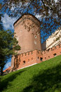 Free Tower In The Castle Wall Stock Image - 2435411