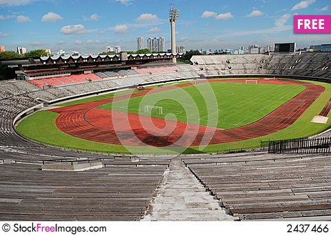 Free Track, Field And Seat Royalty Free Stock Image - 2437466