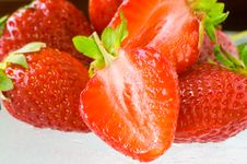 Free Strawberries Royalty Free Stock Image - 2430346